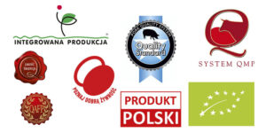 Polskie znaki systemów jakości żywności