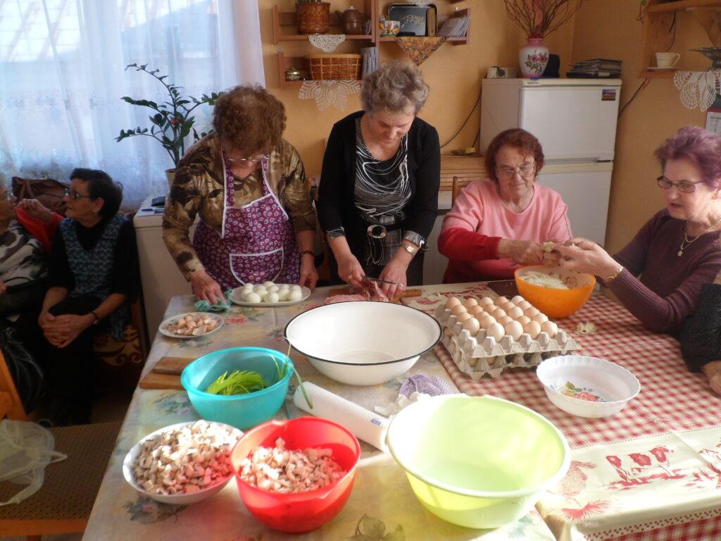 Pokaz kulinarny -Zbrachlin 2012